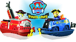 paw patrol pirate pups paw patrol pirate chase and marshall