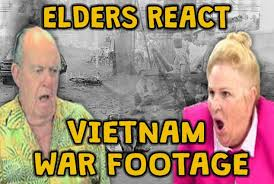 elders react vietnam war footage dankmemes