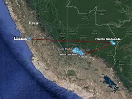Amazon Rainforest Map 11 Day Inca Trail Expedition Amazon Rainforest And Inca Trail Tours