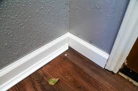 Laminate Flooring Baseboard How To Install Baseboards A Diy Tutorial Love U0026 Renovations