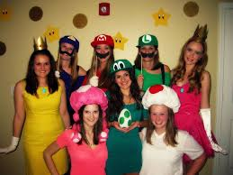 Mario Halloween Costumes Girls 133 Friend Costumes Images Halloween