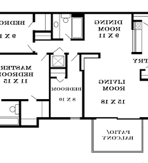 5 Bedroom Floor Plans With Basement Pleasing 30 Unique 2 Story Floor Plans Design Decoration Of