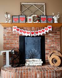 Fireplace Decorations For Valentine S Day by Trendy Black U0026 White Valentines Day Printables Free U2022 Whipperberry
