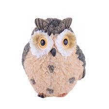 home decor drop shipping micro landscape decoration fairy garden cute owl ornaments home