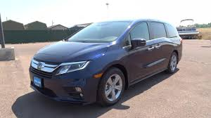 honda odyssey new 2018 honda odyssey van obsidian blue pearl for sale in great