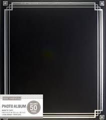 joann fabrics photo albums k company black library binder magnetic photo album joann