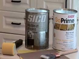 peinturer armoire de cuisine en bois comment repeindre les armoires de cuisine avec sico peinture