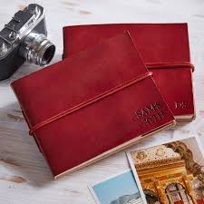 small leather photo album personalised handcrafted leather photo albums by paper high