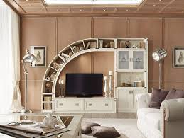 Console Bookshelves by Living Room Wall Units Combine With Bookshelves Natural Johansen