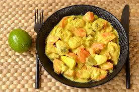 poulet cuisine poulet aux saveurs des îles ma cuisine santé