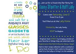 stock the bar shower stock the bar party lollicakes