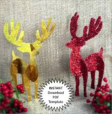 reindeer decor christmas decoration diy christmas ornaments