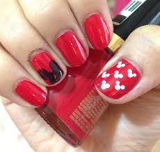 deemacure mickey mouse nailart