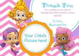 bubble guppy birthday ideas create easy bubble guppies birthday invitations printable