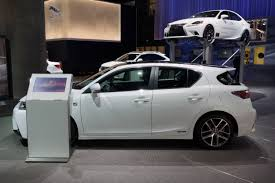 lexus ct200h f sport accessories lexus to launch updated ct 200h next year eventually offer more