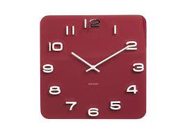 Horloge Cuisine Rouge by Horloges Murales Expo Namur Namur