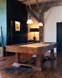 Rustic Pool Table Lights by Pool Table Photos Design Ideas Remodel And Decor Lonny