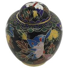 butterfly urn butterfly cloisonne keepsake urn cremation urn for ashes small