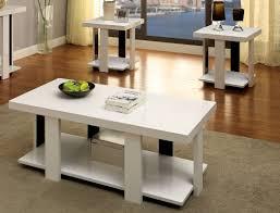 3 Piece Living Room Table Sets Wade Logan Dunlevy 3 Piece Coffee Table Set U0026 Reviews Wayfair