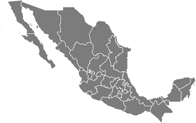 map of the mexico free blank mexico map in svg resources simplemaps