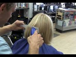 haircuts with hair clippers long blonde hair clipper haircut video youtube