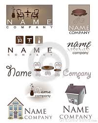 Home Design Business Names by Furniture Design Companies Stunning Ideas Logo Badge Label