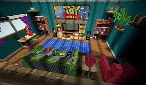 Toy Story Andys Bedroom Toy Story 2 Map For Minecraft 1 8 9 Minecraftsix
