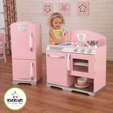 pink retro kitchen collection fair design doll house ideas with wooden dolls looking