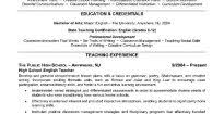 Higher Education Resume Examples Of Good Resumes That Get Jobs Higher Education Resume