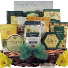 get well gift basket with bounce back and snacks