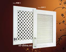 Pvc Kitchen Cabinets by White Pvc Kitchen Cabinets With Shutter Door Kitchen Cabinet Model