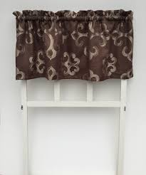 Chocolate Brown Valances For Windows Compact Chocolate Brown Window Valance 72 Chocolate Brown Window Valance Chocolate Brown Scroll Window Jpg