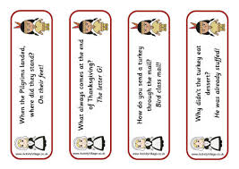 thanksgiving jokes bookmarks 2