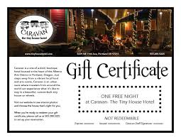 hotel gift certificates the tiny house hotel in portland or