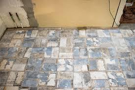 kitchen renovation tile floor electrical update