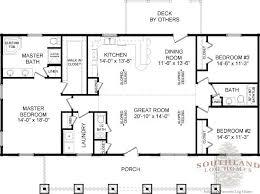 log home open floor plans laurens ii log home plan southland log homes residence