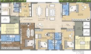 Floor Plans For 5000 Sq Ft Homes 5000 Sq Ft House Plans In India