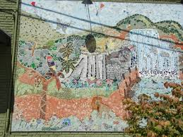 haddon township mosaic mural beth a nice artist and educator at this point in time the dream garden mosaic has been featured in two haddon township community calendars several advertisement backgrounds