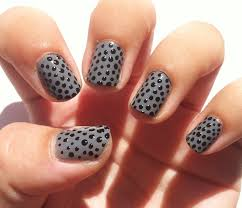 nails design with black beautify themselves with sweet nails