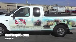 Ford F150 Truck Wraps - ford f 150 pickup full 3m vinyl car wrap scuba fort