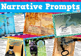 narrative writing prompts printable teacher resources for
