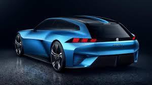 peugeot concept cars meet peugeot u0027s 300bhp self driving shooting brake top gear