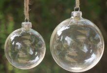 valuable idea clear ornaments teardrop ornament plastic