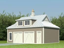 garage plans with flex space barn style garage plan with