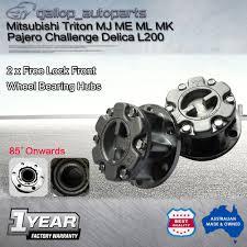 free front wheel bearing hubs mitsubishi triton me mj mk ml pajero