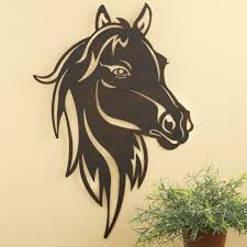 Horse Home Decor by Unique Rustic Cut Metal Work Western Horse Head Wall Art Home