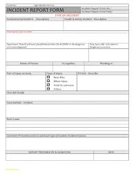 incident report template qld inspirational incident report form template qld incident report
