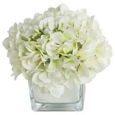 silk hydrangea hydrangea artificial flowers you ll wayfair