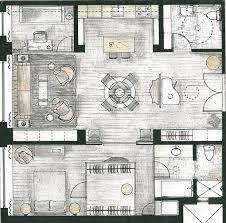 Interior Design Floor Plan Symbols by Best 20 Floor Plan Drawing Ideas On Pinterest Architecture