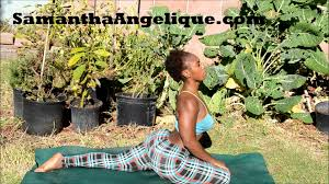 backyard garden yoga flow 12 14 13 youtube